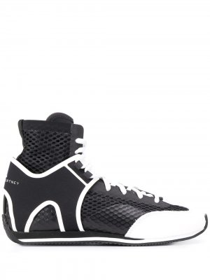 Кроссовки для бокса adidas by Stella McCartney. Цвет: черный