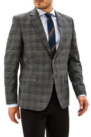 Пиджак La Biali. Цвет: серо-коричневый