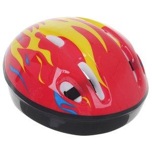 Шлем защитный детский ot-h6, размер s, 52-54 см, цвет красный ONLITOP