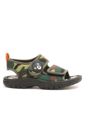 Пляжные сандалии для мальчика MIKI HOUSE. Цвет: зеленый