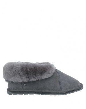 Полусапоги и высокие ботинки EMU. Цвет: серый