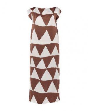 Длинное платье VIVIENNE WESTWOOD ANGLOMANIA. Цвет: белый
