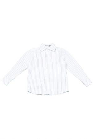 Рубашка Gioia di Mamma. Цвет: белый
