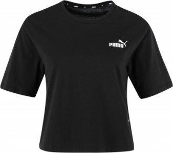 Футболка женская Amplified, размер 40-42 Puma. Цвет: черный