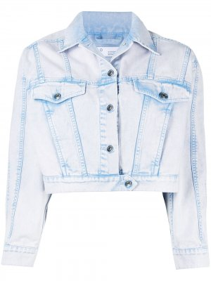 Джинсовая куртка Kahena IRO. Цвет: синий