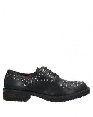 Обувь на шнурках APEPAZZA. Цвет: черный