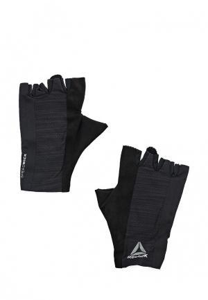 Перчатки для фитнеса Reebok OS U TRAINING GLOVE. Цвет: черный