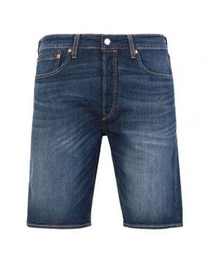 Джинсовые шорты LEVI' S. Цвет: синий