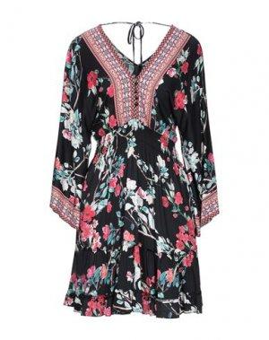 Короткое платье HALE BOB. Цвет: черный