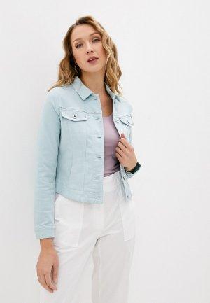 Куртка джинсовая Gerry Weber. Цвет: бирюзовый
