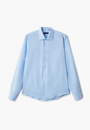 Рубашка Katasonov. Цвет: голубой