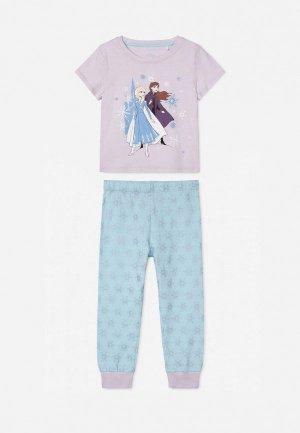 Пижама Gloria Jeans. Цвет: разноцветный