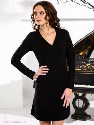 Платье Fairly. Цвет: черный