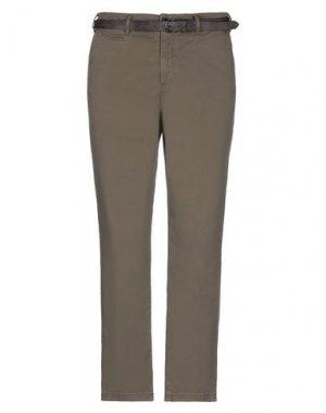 Повседневные брюки JACK & JONES. Цвет: зеленый-милитари
