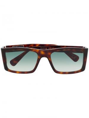 Солнцезащитные очки 007LP Enzo Laps Collection Italia Independent. Цвет: коричневый