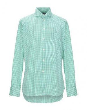 Pубашка BRANCACCIO. Цвет: зеленый