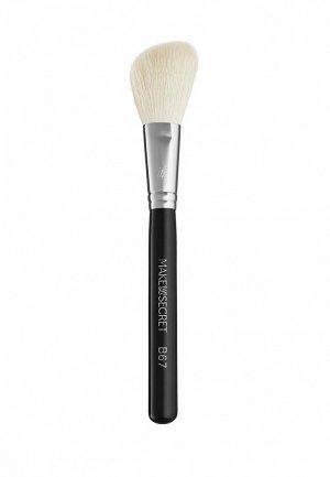Кисть для лица Make-Up Secret B67. Цвет: черный