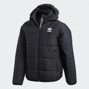 Утепленная куртка Originals adidas. Цвет: черный