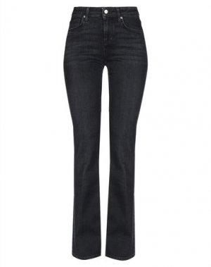 Джинсовые брюки DON THE FULLER. Цвет: стальной серый
