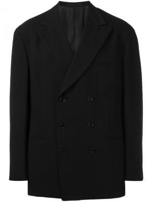 Пиджак с заостренными лацканами Romeo Gigli Vintage. Цвет: черный