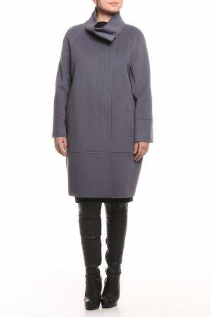 Пальто HERESIS. Цвет: серый