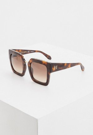 Очки солнцезащитные Carolina Herrera NY-606-1AY CH New York. Цвет: коричневый