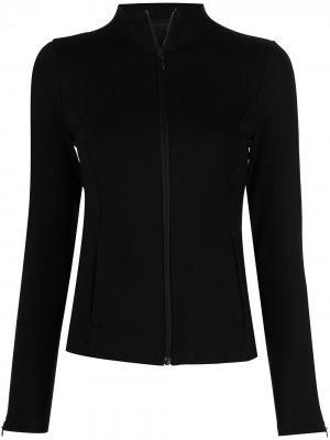 Спортивная куртка узкого кроя Donna Karan. Цвет: черный