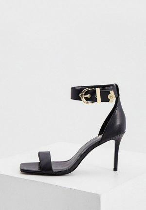 Босоножки Versace Jeans Couture. Цвет: черный
