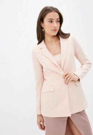 Пиджак Vilatte. Цвет: розовый