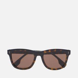Солнцезащитные очки Miller Burberry. Цвет: коричневый