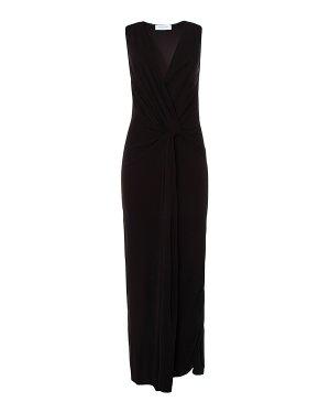 Платье AJ16 44 черный Anna Rachele. Цвет: черный