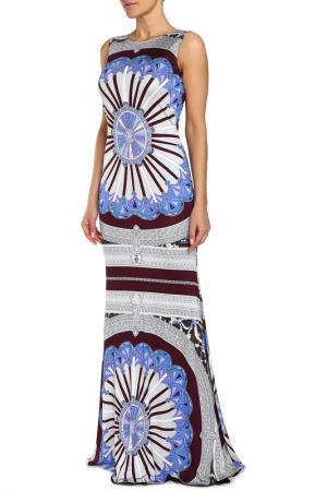 Платье Emilio Pucci. Цвет: серый