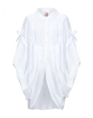 Pубашка ANDREA TURCHI. Цвет: белый