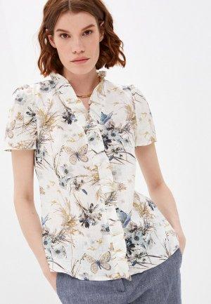 Блуза Electrastyle. Цвет: бежевый