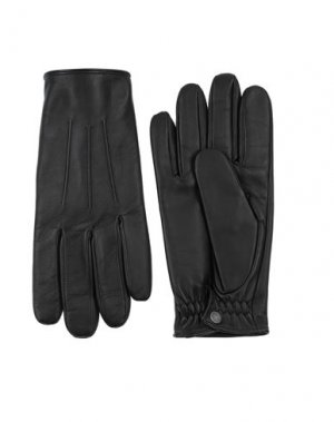 Перчатки SANDRO. Цвет: черный