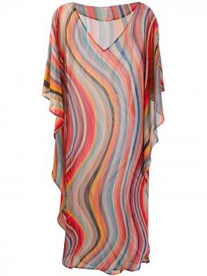 Платье-туника Swirl Paul Smith. Цвет: розовый