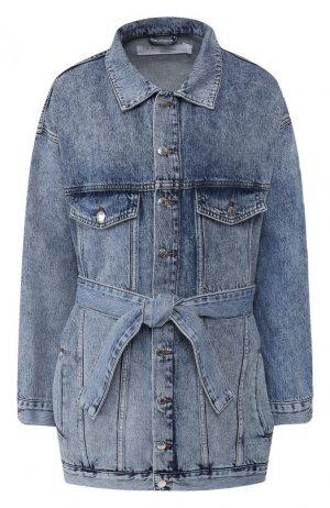 Джинсовая куртка Iro. Цвет: голубой