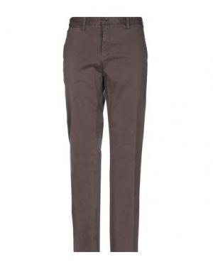 Повседневные брюки ERIC HATTON. Цвет: какао
