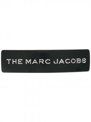 Заколка для волос с логотипом Marc Jacobs. Цвет: черный