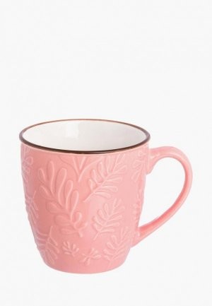 Кружка Elan Gallery. Цвет: розовый
