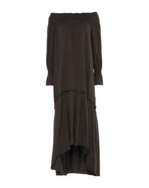 Платье до колена ALPHA STUDIO. Цвет: зеленый-милитари