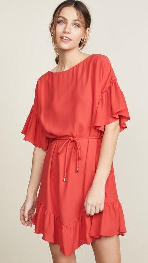 Double Georgette Dress Amanda Uprichard