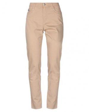 Повседневные брюки FUEGO WOMAN. Цвет: верблюжий