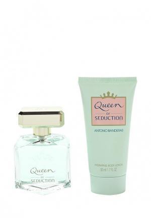 Набор парфюмерный Antonio Banderas Queen Of Seduction Туалетная вода 50 мл + лосьон для тела