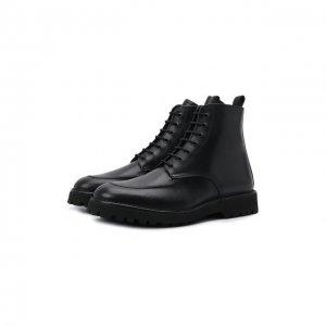 Кожаные ботинки Kenzo. Цвет: чёрный