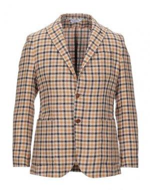 Пиджак BOTTEGA MARTINESE. Цвет: бежевый