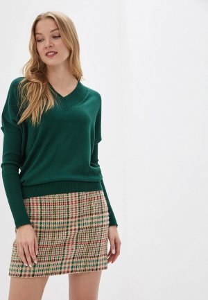 Пуловер MaryTes. Цвет: зеленый