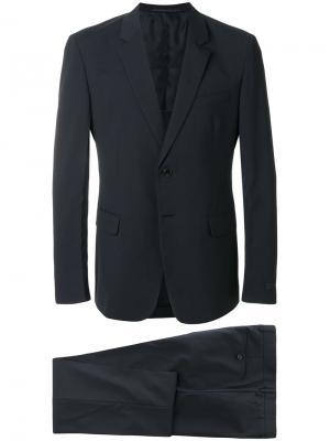 Классический костюм-двойка Prada. Цвет: синий