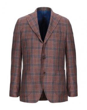 Пиджак GABO Napoli. Цвет: коричневый