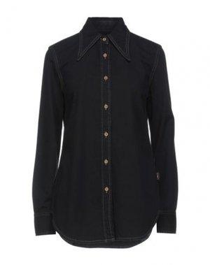 Джинсовая рубашка VIVIENNE WESTWOOD ANGLOMANIA. Цвет: черный